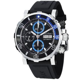 Paul Picot Mens Yachtman Blue Dial Chronograph Automatic Watch