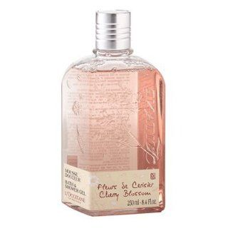 Loccitane Cherry Blossom Bath & Shower Gel Health