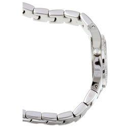 ESQ Womens Stainless Steel White Dial Diamond Watch