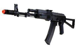 410 FPS V3 KALASH DBoys AK 74S Full Metal AEG Rifle Black