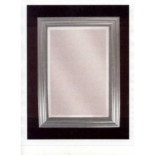 Stuart Silver Wood Framed Mirror