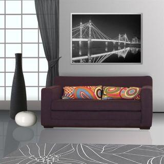 coloris anthracite   Revêtement tissu 100% coton   couchage 124 x 199