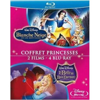 BLU RAY DESSIN ANIME Blu Ray Blanche Neige et les sept nains ; La Be