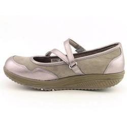 Skechers Shape Ups Womens Core Strength Gray Walking Shoes