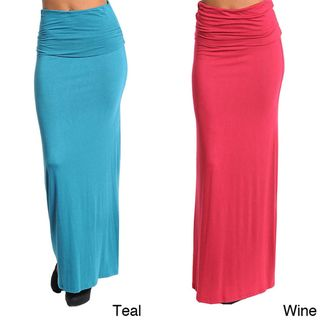 Stanzino Womens Stretchy Long Skirt