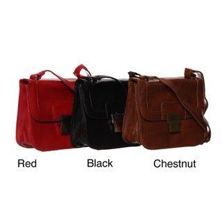 Del Cesca Lizzie Flap Cross body Bag