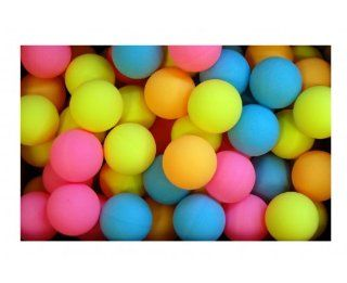 Bulk Gross Table Tennis Balls (144 colored)
