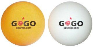 GOGO™ 1 Bag (144 balls) 1 Star 40mm Table Tennis Balls