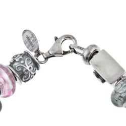 Signature Moments Sterling Silver Hugs and Kisses Theme Bracelet