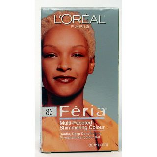 Oreal Feria Hair Color #83 Nude Gold (Pack of 3)