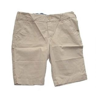 Chino Bermuda Shorts, Khaki, 6 Clothing