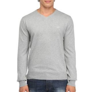 RICA LEWIS Pull Ope Homme Gris chiné   Achat / Vente PULL RICA LEWIS