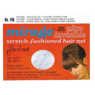 Mirage Ultra Invisible Neutral Hair Net #146 Beauty