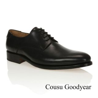 Modèle Goodyear. Coloris  Noir. Chaussures Derby J. BRADFORD Homme