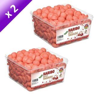 Haribo Maxi Tagada 210 pièces x2   Achat / Vente CONFISERIE DE SUCRE
