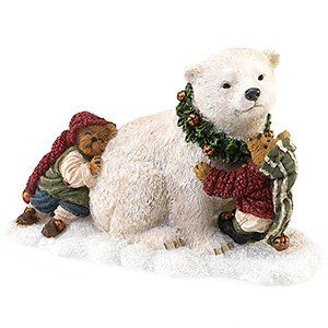 Artie the Polar Bear with Jolly and Ollie Elfington