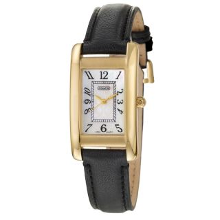 Coach Womens Lexington Gold plated Stainless Steel Watch