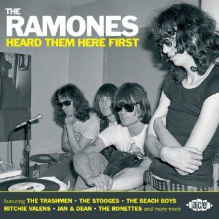 The Ramones Heard Them Here First Various Artists Music