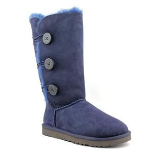 Ugg Australia Womens Bailey Button Triplet Regular Suede Boots