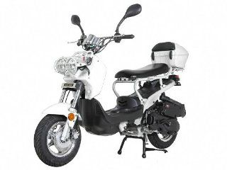 Sunny Powersports MC D150L WHITE Gas Ruckus 150cc Moped