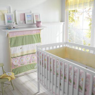 Big Believers Lazy Daisy 5 piece Crib Bedding Set