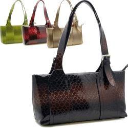Alligator Embossed Handbag