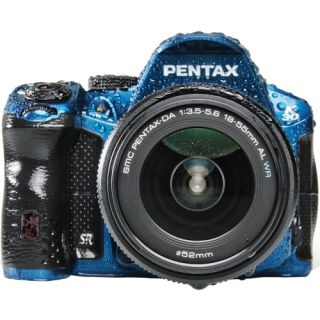 Pentax K 30 16.3 Megapixel Digital SLR Camera (Body with Lens Kit