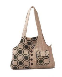 Earth Divas MH 153 Stonewashed Hemp Waist Coat Design Bag