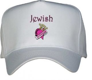 Jewish Princess White Hat / Baseball Cap Clothing