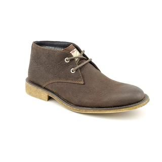 Calvin Klein Jeans Mens Quent Leather Boots