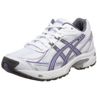 Womens GEL 150 TR Training Shoe,White/Storm/Lilac,10 B US Shoes