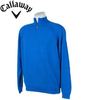 Mens Callaway X Series Long Sleeve 1/4 Zip Sweater
