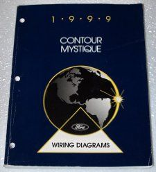 1999 Ford Contour Mercury Mystique Wiring Diagrams Ford Motor Company