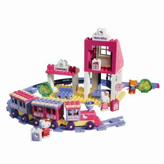 La Gare De Hello Kitty   95 pièces   Achat / Vente JEU ASSEMBLAGE
