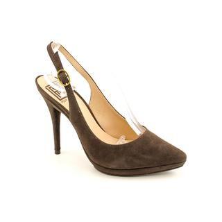 Pour La Victoire Womens Divina Regular Suede Dress Shoes