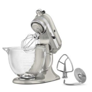 KitchenAid KSM155GBQC   Tilt Head Stand Mixer w/ 5 qt