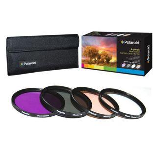 Polaroid Optics 77mm 4 piece Filter Kit