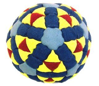 Super Hero Red, Yellow & Blues 152 Panel Hacky Sack