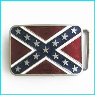 Cool Western Rebel Confederate Flag Belt Buckle T 152 Everything Else