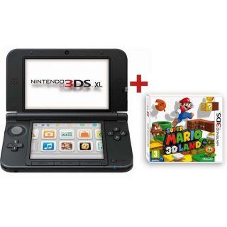 CONSOLE 3DS XL ROUGE NOIR + SUPER MARIO 3D LAND   Achat / Vente DS 3DS