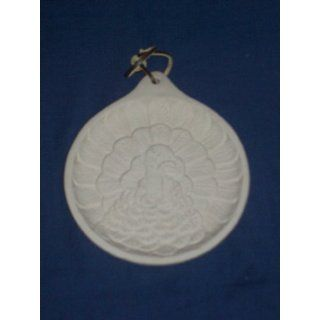 1999 Hermitage Pottery Turkey Cookie Mold