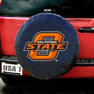 Oklahoma State Cowboys NCAA Spare Tire Cover (Black