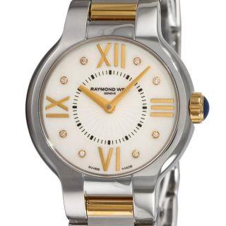 Raymond Weil Womens Noemia Two tone Diamond Watch