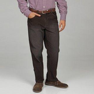 Calvin Klein Mens Carob Cord Dylan Pants
