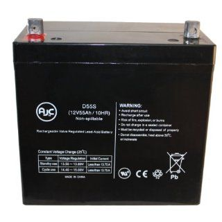 Lithonia ELT275 12V 55Ah Emergency Light Battery   AJC