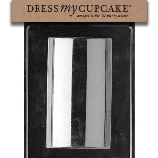 Dress My Cupcake DMCM153 Chocolate Candy Mold, Large Loaf