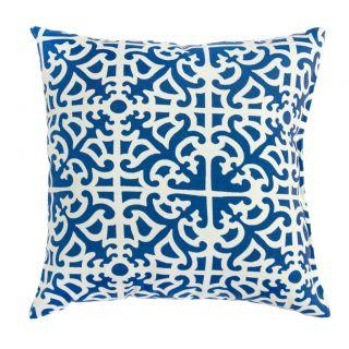 Outdoor Sapphire Indigo Accent Pillows (Set of 2)