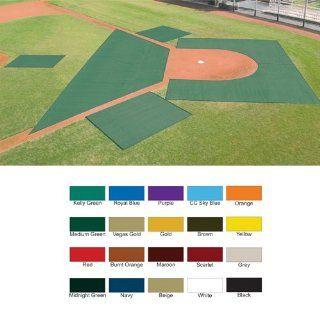 Set of Batting Practice Pro Tec Turf Blanket   Baseball
