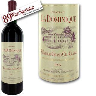 Vin rouge   Saint Emilion   Saint Emilion Grand Cru Classé   Vendu à