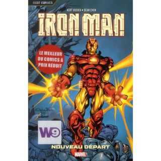 IRON MAN T.2   Achat / Vente BD Kurt Busiek   Sean Chen   Patrick